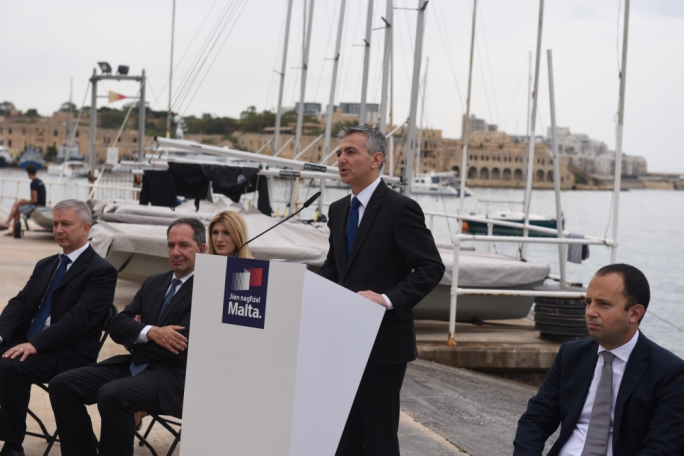 Simon Busuttil was answering journalists' questions at a press conference in Ta' Xbiex