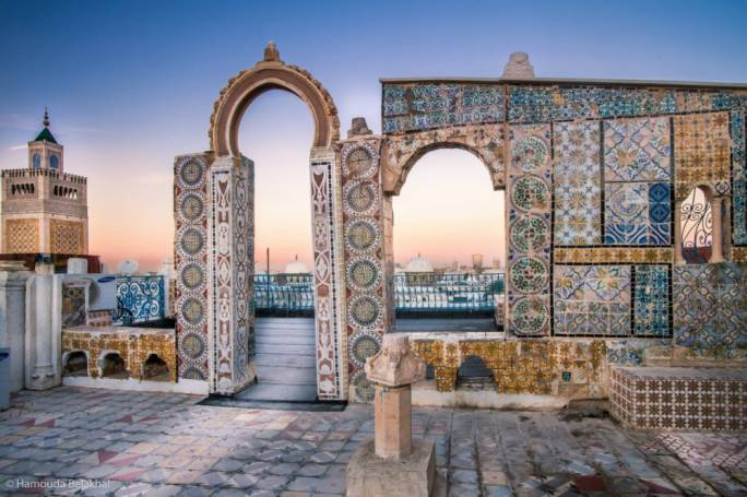 Built on the former capital of the Carthaginian empire, Tunis sports a long and varied cultural history that can still be seen in every facet of the city's architecture