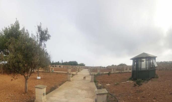The Environment and Resources Authority said the field behind Fenech Adami's house had been 'formalised' into a garden, something that was not allowed