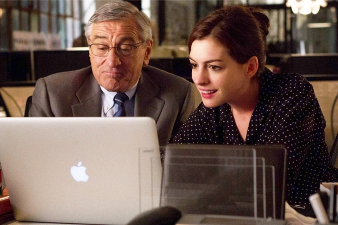 Generation gap: Robert De Niro and Anne Hathaway are overqualified but underperforming in this workplace comedy of matters