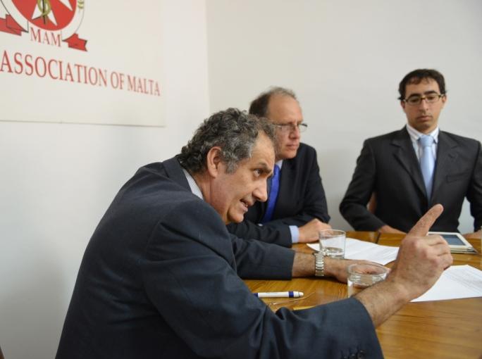 MAM general secretary Martin Balzan