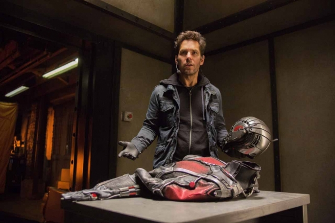 Dress to compress: Paul Rudd shrinks his way to superherodom in Marvel's latest action caper