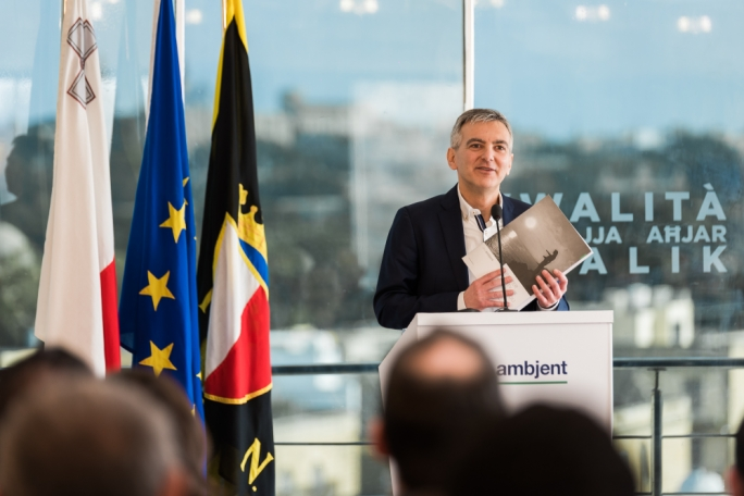 PN leader Simon Busuttil's commitment on environmental issues has echoes of Labour's focus on civil liberties before the 2013 election