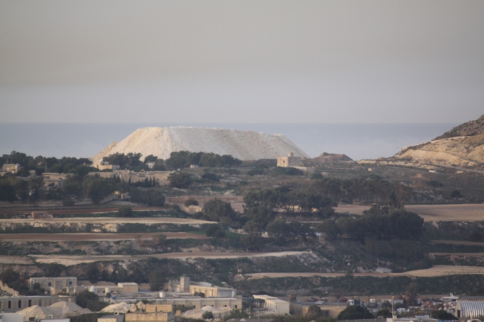 The engineered landfill has taken in most of Malta's domestic waste for decades