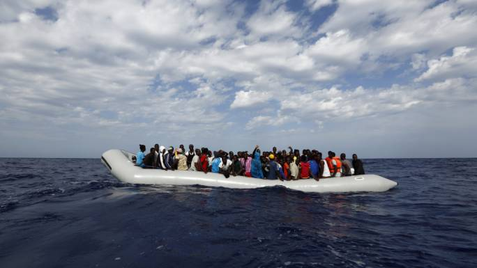 Migrant crossings to Italy from Libya have fallen by more than 50% in July and August when compared to the same period last year