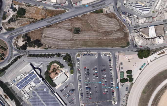 Large diy store proposed on qormi fields maltatoday the project includes two levels of underground parking a two storey diy centre and solutioingenieria Choice Image