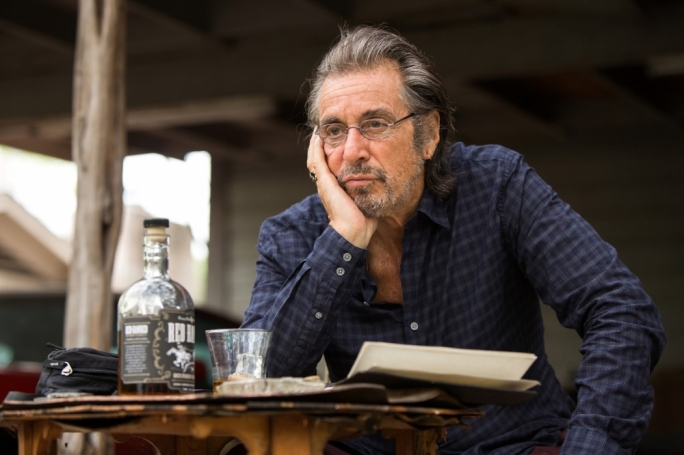 Drinks for regret: Al Pacino is back is David Gordon Green's flawed drama about a lonely locksmith being gradually coaxed out of his shell