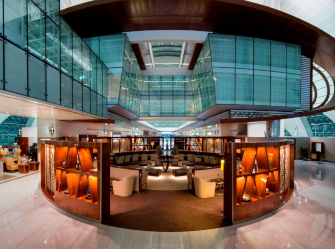 Emirates has completed a major makeover of its Business Class lounge at Concourse B of Dubai International Airport