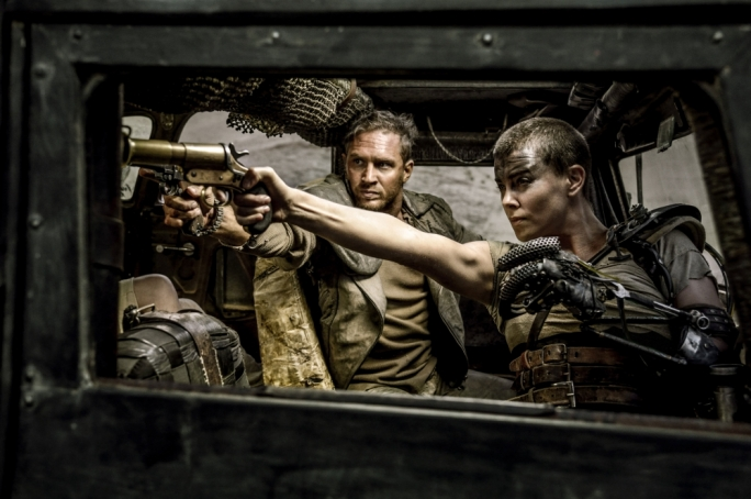 Fury squared: Tom Hardy and Charlize Theron negotiate a hostile post-apocalyptic landscape in this highly anticipated franchise reboot