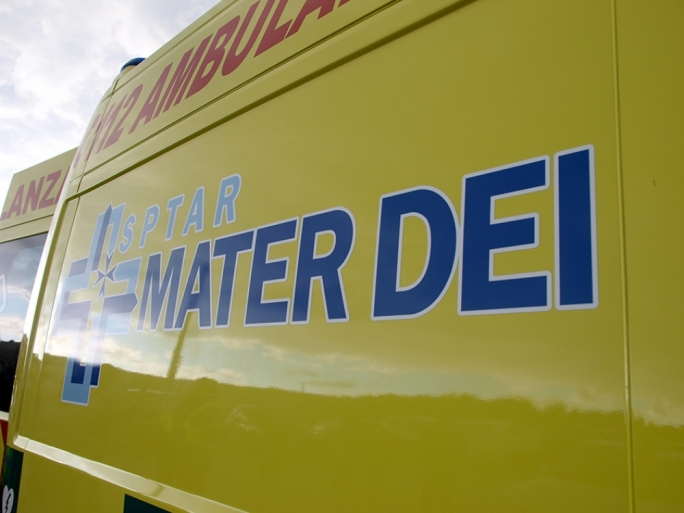 The child was conveyed to Mater Dei Hospital by ambulance