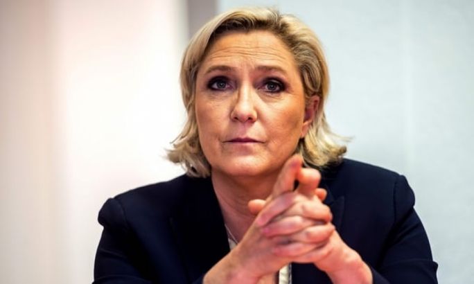 Far-right French leader Marine Le Pen charged with European Union funds misuse
