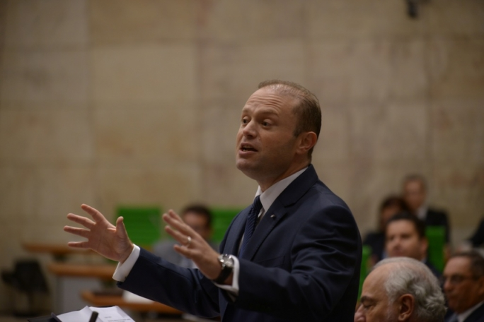 Prime Minister Joseph Muscat is a natural-born orator