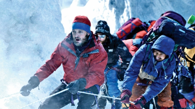 Frozen waste: Jason Clarke leads an expedition to the top of Everest in this star-studded disaster flick