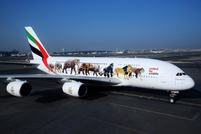 United for Wildlife-Emirates A380