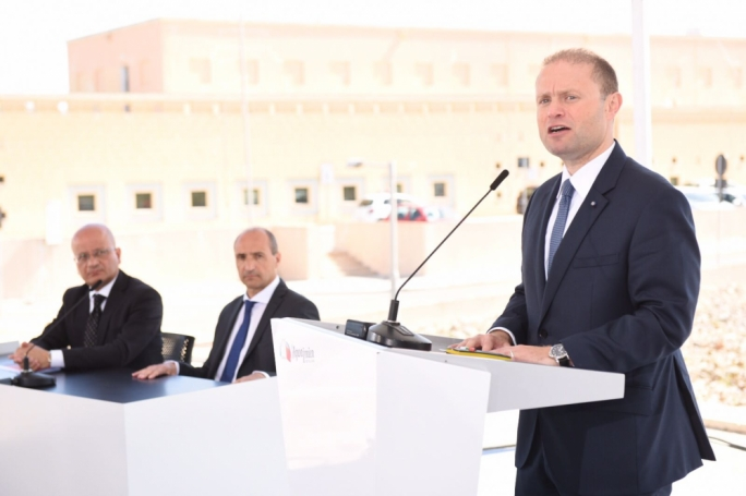 Prime Minister Joseph Muscat (R) (Photo: James Bianchi/MediaToday)