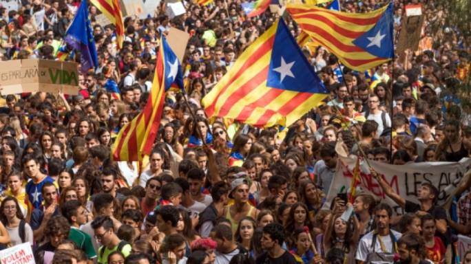 90% of the 2.26 million Catalans who voted chose independence from Spain (Photo: CBC)