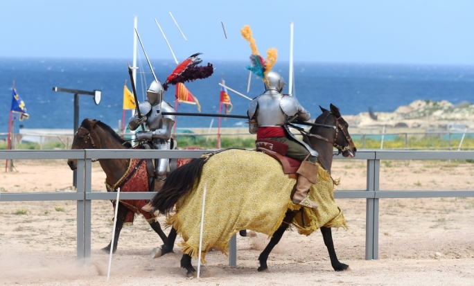 A joust will be one of the many attractions available at Fondazzjoni Wirt Artna's Malta Jousting Festival and Renaissance Fair at Rinella this weekend •Photo by Ray Attard