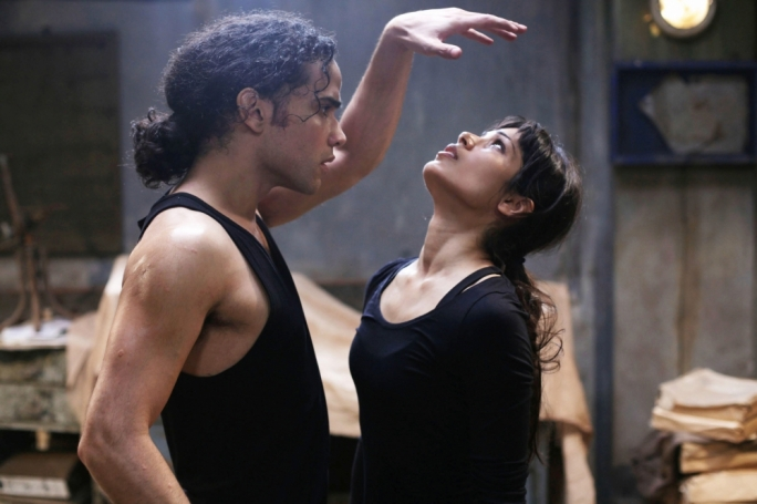 Frieda Pinto and Reece Ritchie dance their way to freedom in this politically interesting but dramatically pat 'true story'