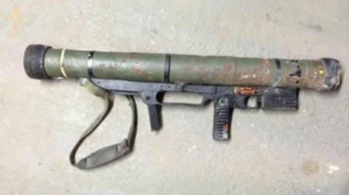 Rocket launcher, machine guns turn up in firearm amnesty