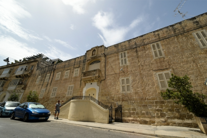 Stately home: The Cloisters on Mrabat Street is being earmarked for a boutique hotel and apartment complex by the Bilom Group