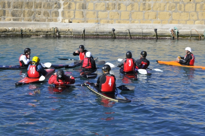 MCPC players during the February training camp held in Gozo