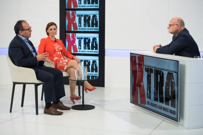Gozo minister Justyne Caruana and Nationalist MP Chris Said on Xtra this evening