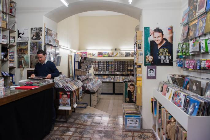 The shop might be the oldest record shop in the world