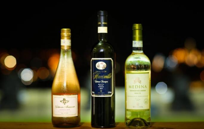 A selection of quality wines
