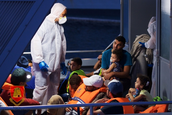 Malta rescues 35 migrants in distress after Italy refuses to intervene
