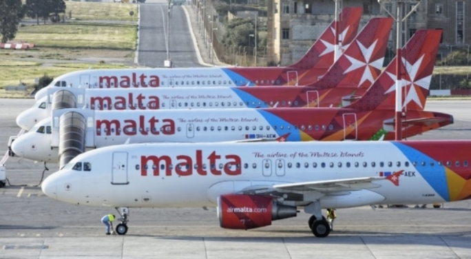 Air Malta is eyeing long haul flights across the Atlantic