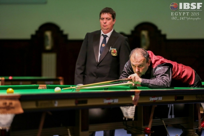 Alex Borg, who is one of the two Maltese participants in the Under 21 World Snooker Championship