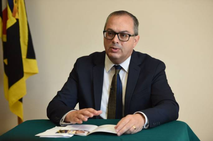 PN leadership candidate, Alex Perici Calascione (Photo: James Bianchi/MediaToday)