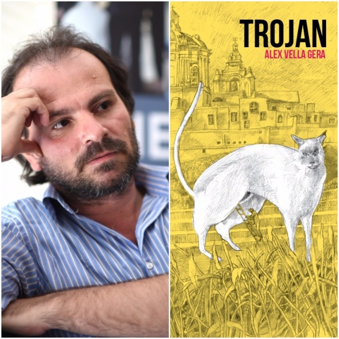 Alex Vella Gera's Trojan is among the shortlisted novels up for the National Book Prize