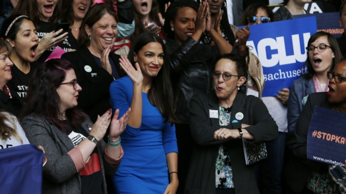 Alexandria Ocasio-Cortez became the youngest woman ever to be elected to Congress