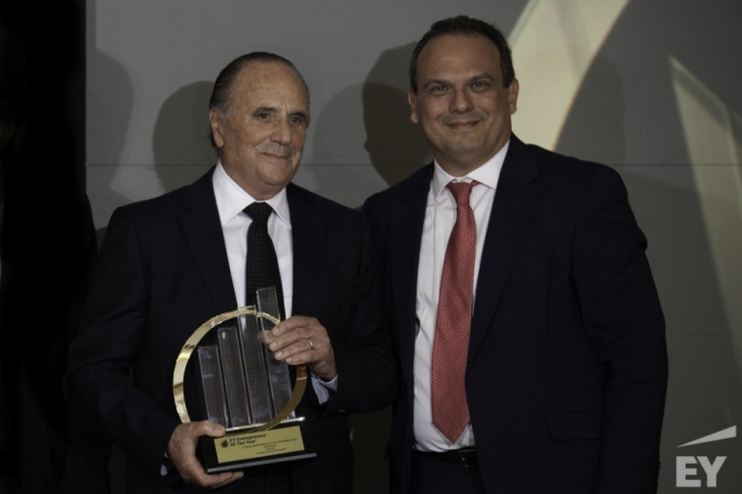 Alfred Pisani, Chairman of the Corinthia Group, has been named the first recipient of EY's Malta Entrepreneur of the Year award