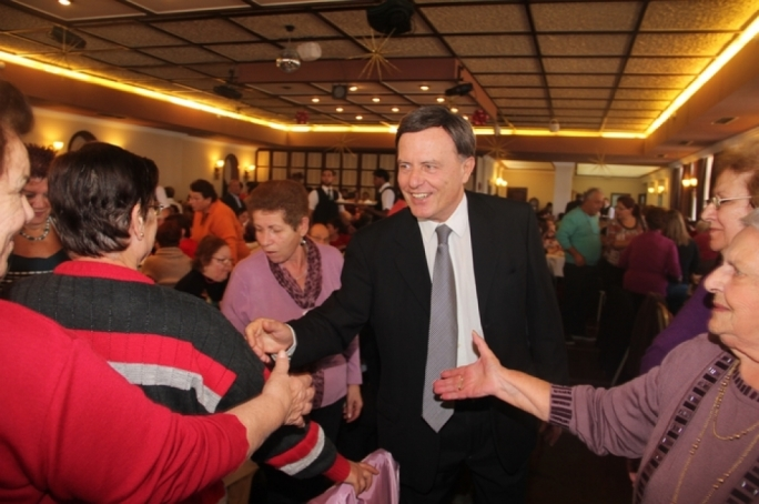 Alfred Sant is the frontrunner for May 2014's European elections