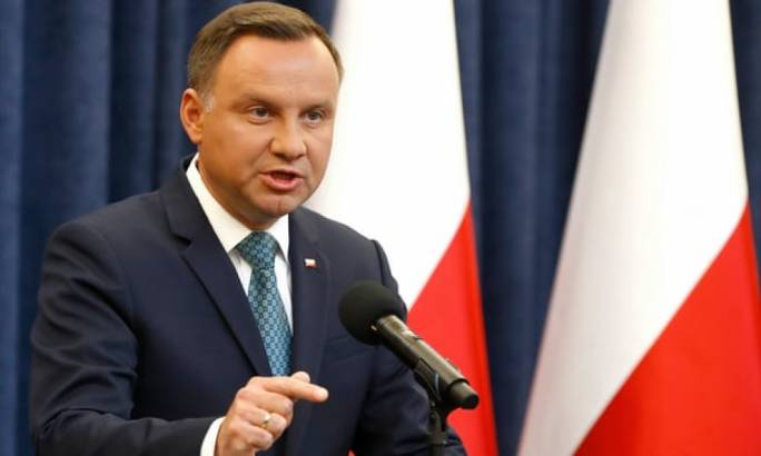 In announcing his decision on Monday, Andrzej Duda broke openly for the first time with Jarosław Kaczyński, the leader of the ruling Law and Justice party