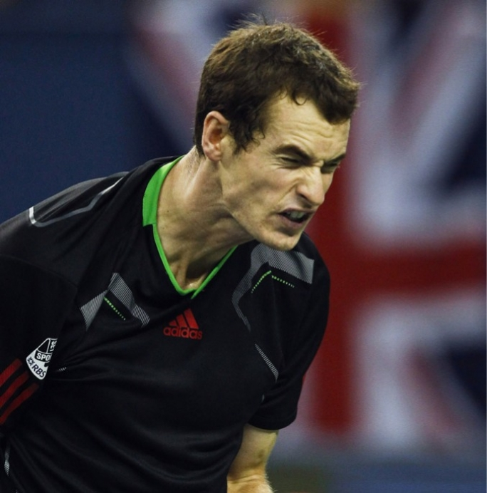 It was not Andy Murray's day as he had some words with the umpire
