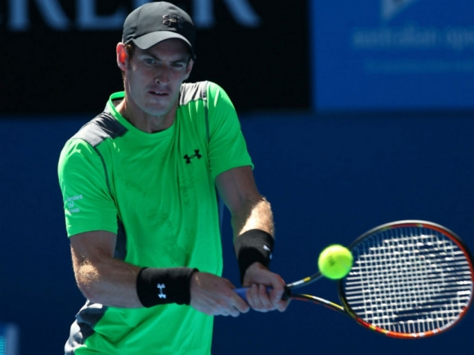 Andy Murray eased past Joao Sousa in straight sets