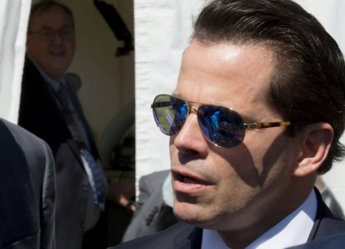 Anthony Scaramucci was forced out of his post, with the blessing of the President and his family