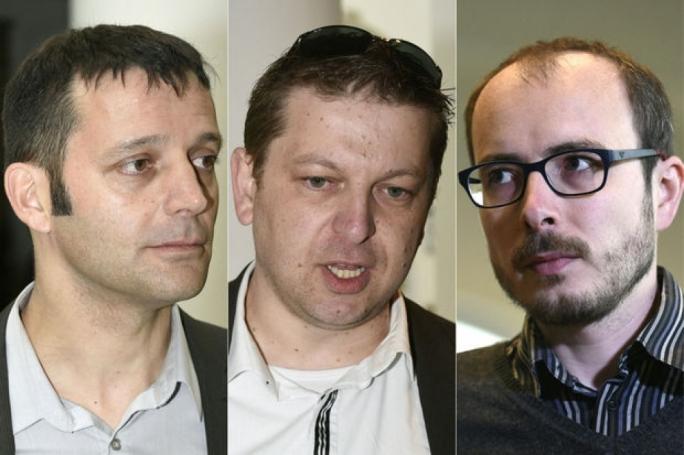 Edouard Perrin, Raphael Halet and Antoine Deltour