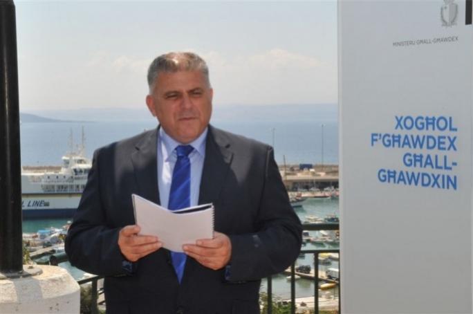 Gozo minister Anton Refalo. He has a certain idea about democracy...