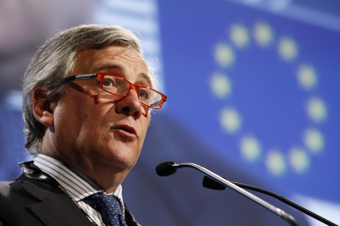 Europe must band together rather than disintegrate in order to compete globally, according to Antonio Tajani