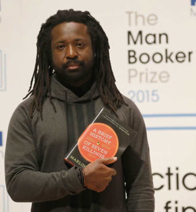 Marlon James has won the Man Booker Prize for his novel A Brief History of Seven Killings