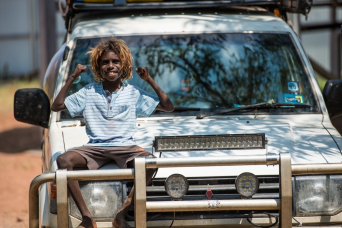 Nhunlunbuy has one of the biggest communities where both Australians and Aboriginal people live together
