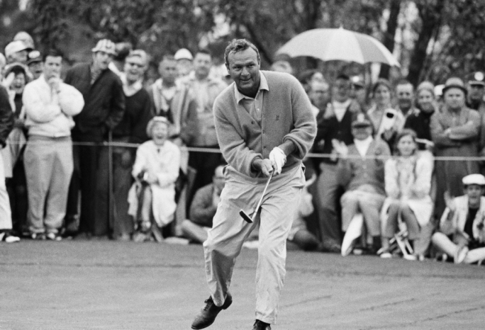 Palmer is credited with bringing golf to the masses