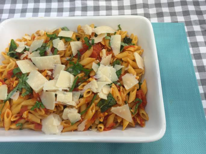 Penne all'Arrabiata is a simple meal that's great all year round