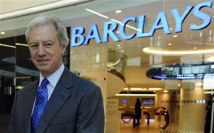 The bank's shareholders were pushing for the installation of a new chairman.