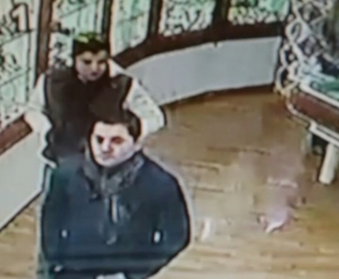 The shoplifters were caught after a still from CCTV footage was circulated to the press