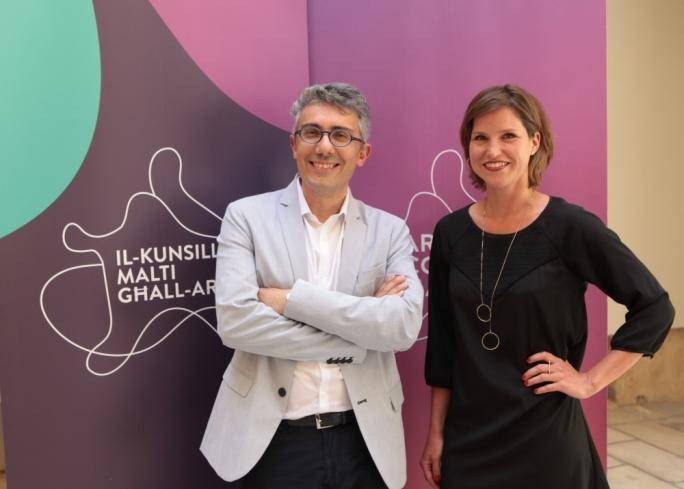 Raphael Vella and Bettina Hutschek